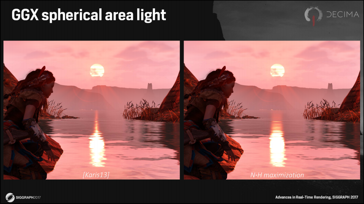 GGX Spherical Area Light